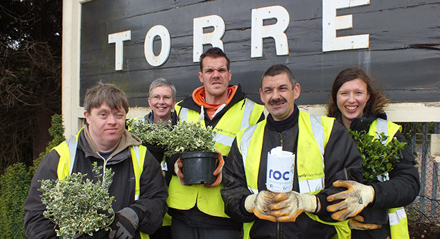 Robert Owen Communities working to improve Torre station