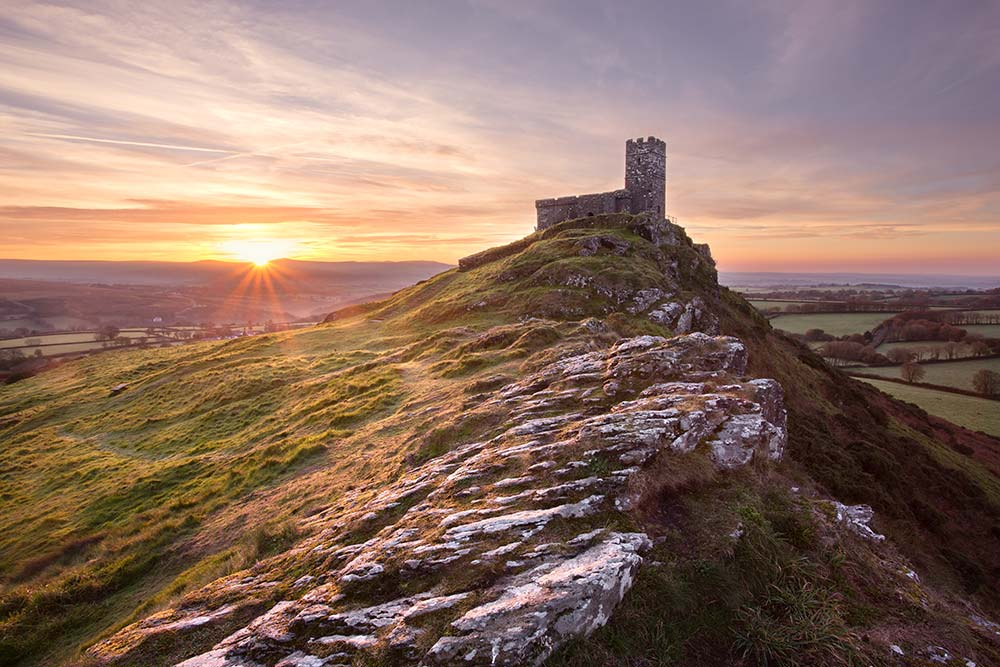 Brentor Church - licensed from Shutterstock
