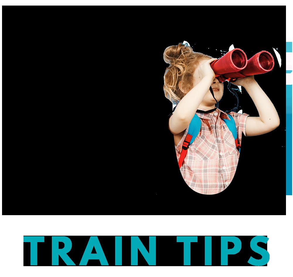 10 TRAIN TIPS