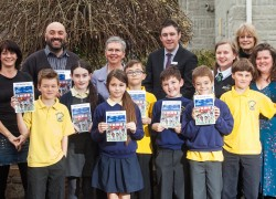 """The Seaside Train"" book is launched at Starcross Primary School"