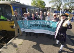 Promoting more frequent Sunday trains on the Avocet Line