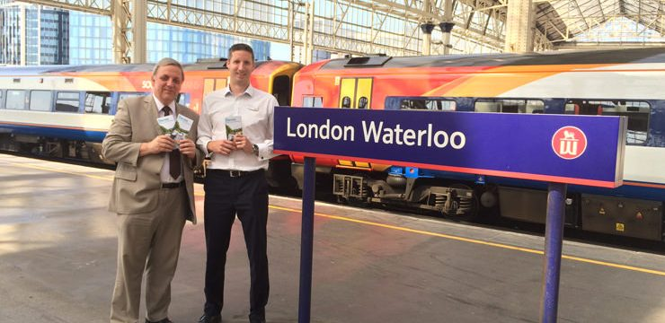South West Trains joins the partnership
