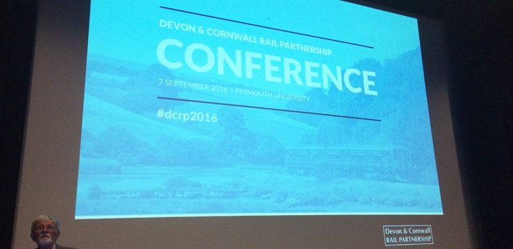 Devon & Cornwall Rail Partnership conference 2016