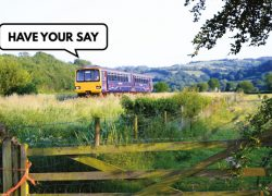 North Devon rail survey