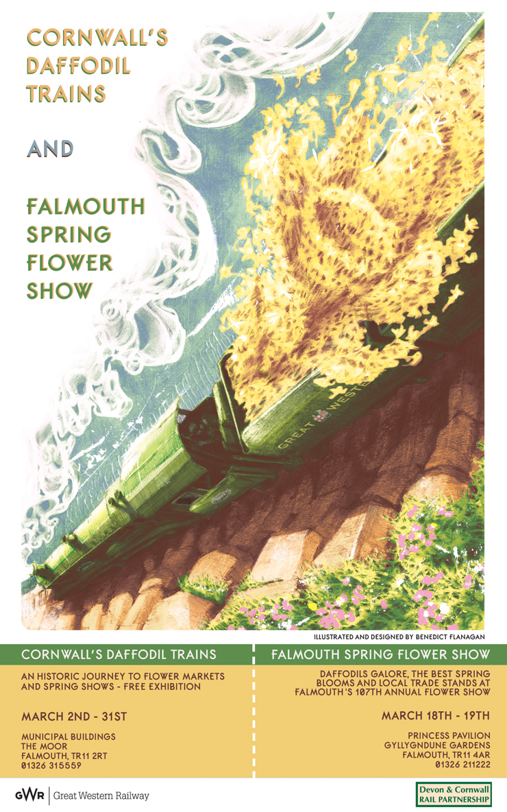 Daffodil Train poster