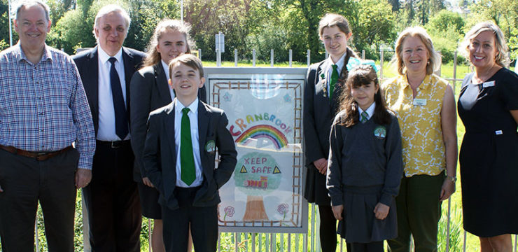 Second wave of posters designed by local youngsters at Cranbrook station