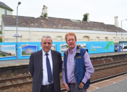 New Saltash hoardings promote branch line destinations