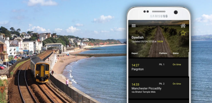Get our free live departures apps