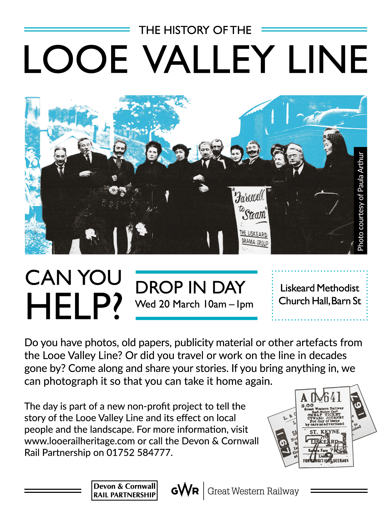 March drop-in day flyer